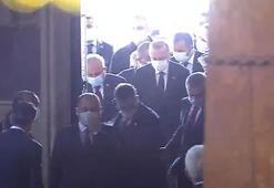 Son dakika... Cumhurbaşkanı Erdoğan Ayasofyada