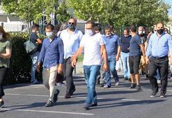 Ayasofya Camiinin açılışına yetişemeyenler cuma namazını Yenikapıda kılacak