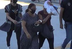 İki kadın hırsız iş üstünde yakalandı