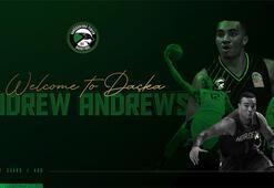Andrew Andrews, Darüşşafaka Tekfende