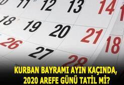 Kurban Bayramı ne zaman, ayın kaçında, hangi tarihte 2020 Bayram tatili kaç gün ve arefe günü tatil mi olacak