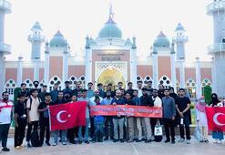 Ayasofya-i Kebir Camiindeki cuma namazı Taylandda kutlandı
