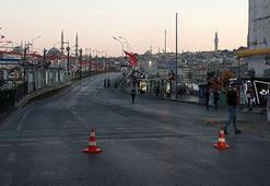 İstanbulda kapatılan yollar yeniden trafiğe açıldı