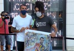 Rekor kıran Mehmet Topala Ersan Kaydan yağlı boya tablosu jesti