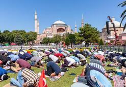 İstanbul Valisi Ali Yerlikayadan Ayasofya Camii  teşekkürü