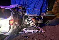 Trabzonda çok feci kaza 4 kişi hayatını kaybetti