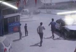 Arnavutköyde iş yerinde patlama Yaralılar var