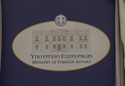 Yunanistan Dışişleri Bakanlığı Türk bayrağı yakılmasını kınadı
