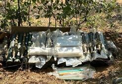 Pençe-Kaplan Operasyonu PKK'ya ait çok sayıda silah ve mühimmat ele geçirildi