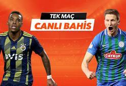 Fenerbahçe-Çaykur Rizespor maçı Tek Maç ve Canlı Bahis seçenekleriyle Misli.com'da