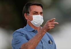 Brezilya Devlet Başkanı Bolsonaronun 4. Kovid-19 testi negatif çıktı