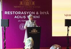 Emine Erdoğan: Ayasofyamıza 86 yıl sonra cami sıfatıyla yeniden kavuşmuş olmanın sevincini yaşıyorum