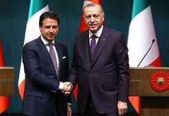 Son dakika Cumhurbaşkanı Erdoğan İtalya Başbakanı Conte ile görüştü