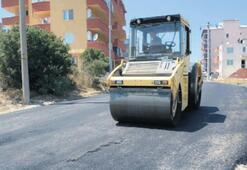 Dört günde, üç bin metrekareye asfalt