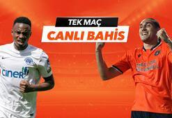 Kasımpaşa - Medipol Başakşehir maçı Tek Maç ve Canlı Bahis seçenekleriyle Misli.com'da