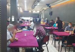 Eskişehir'de şok baskın 55 kişi kumar oynarken yakalandı
