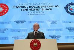 MİT İstanbulda yeni kalesine kavuşuyor Cumhurbaşkanı Erdoğandan önemli açıklamalar