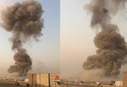 Bağdatta Haşdi Şabi ve polis güçlerinin bulunduğu askeri üste patlama
