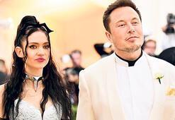 Grimes'ten sevgilisi Elon Musk'a rest: Lütfen telefonu kapat
