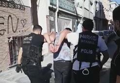 İstanbulda 7 ilçede uyuşturucu operasyonu 9 şüpheli gözaltına alındı