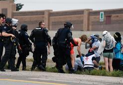 ABDde protestolarda araçlı saldırı
