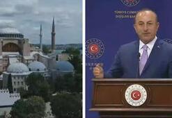 Dışişleri Bakanı Mevlüt Çavuşoğlu: Ayasofya ortak ev değil, camidir
