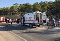 Son dakika... Mersinde askerleri taşıyan otobüs devrildi 2otobüs şoförü ile 4 asker şehit