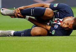 PSGde Kylian Mbappe 3 hafta sahalardan uzak kalacak