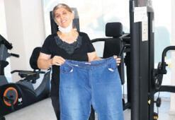 Altı ayda 23 kilo verdi