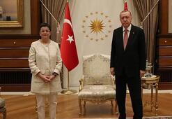 Cumhurbaşkanı Erdoğan, İspanya Dışişleri Bakanı Layayı kabul etti
