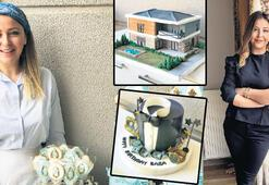 Mutfak ve tasarım aşkı pastalarda hayat buldu