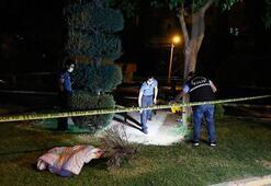 Şanlıurfada parkta oturan aileye silahlı saldırı