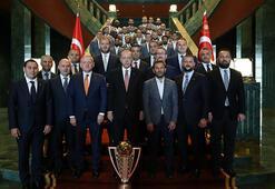 Cumhurbaşkanı Erdoğandan Başakşehire: Daha işiniz bitmedi