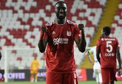 Sivassporun gol yükünü Yatabare sırtladı