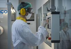 Covid-19 ilacı ve aşısı üreten tesis ilk kez görüntülendi