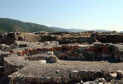 Komana Antik Kentindeki kazı çalışmaları