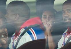 Kim Kardashian gözyaşlarına boğuldu Otomobilde aile kavgası