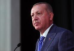 Cumhurbaşkanı Erdoğandan şehit olan askerlerin ailelerine taziye