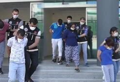 Bursada hapları reçetesiz satan 6 kişi gözaltına alındı