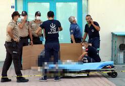 Kayseride 8inci kattan atlayan kadın öldü