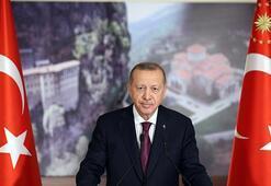 Cumhurbaşkanı Erdoğandan Sümela Manastırı paylaşımı