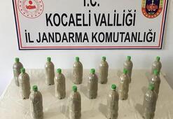 150 bin TL değerinde 15 adet pet şişenin içerisine saklamışlar