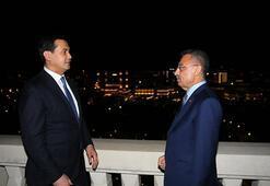 Cumhurbaşkanı Yardımcısı Oktay, Özbekistan Başbakan Yardımcısı Umurzakovu kabul etti