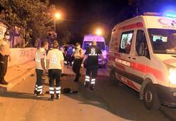 İstanbulda polisten kaçan motosiklet sürücüsü kazada öldü