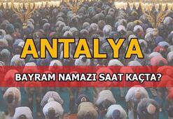 Antalyada bayram namazı saat kaçta kılınacak 2020 Diyanet Antalya Bayram namazı saati...