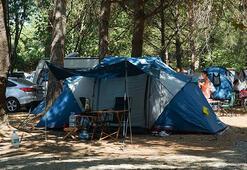 Kuzey Egenin çadır ve karavan kamplarında bayram rezervasyonları  doldu