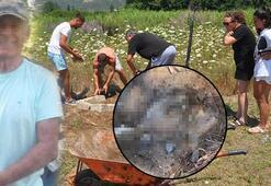 Emekli albayın öldürdüğü köpek, kumsalda gömülü bulundu