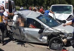 Bursada zincirleme trafik kazası