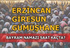 Erzincan, Giresun, Gümüşhane'de bayram namazı saati kaç 2020 Erzincan, Giresun, Gümüşhane bayram namazı saat kaçta