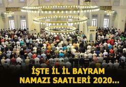Kurban Bayramı namazı saat kaçta ne zaman kılınacak 31 Temmuz İstanbul, Ankara ve İzmir bayram namazı saatleri